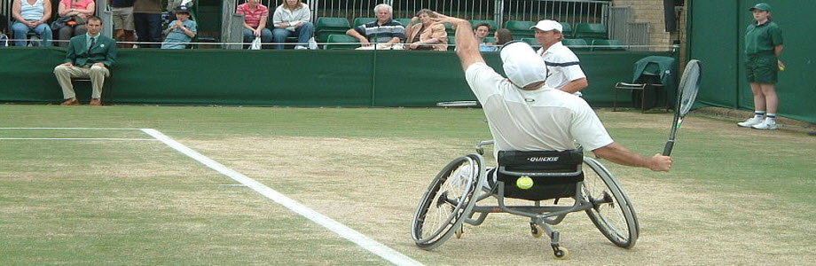 Men's Wheelchair doubles. Photo by Jonathanawhite