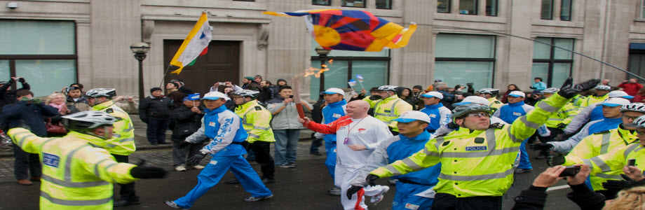 The London 2012 Paralympics Torch Relay