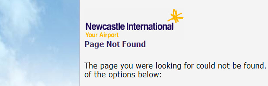 Newcastle Airport Website Fails Accessibility Review