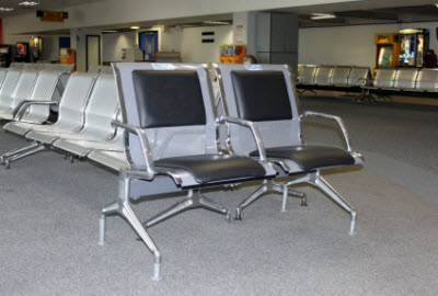 PRM seats at Belfast airport