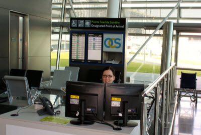 Dublin Airport assistance desk