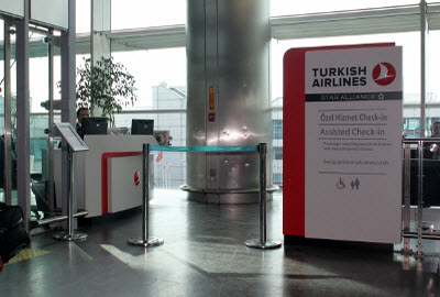 Turkish Airlines Disabled Assistance Desk