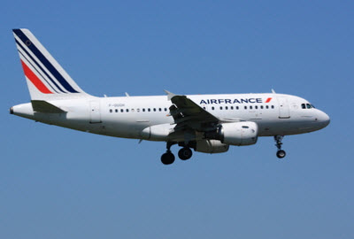 Air France A320 aircraft