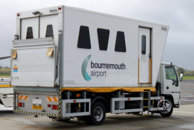 Bournemouth airport ambulift