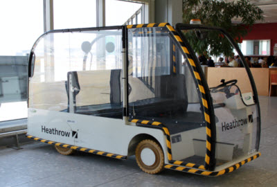 Heathrow Buggy for passengers with special needs