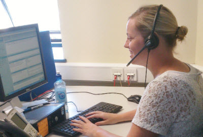 Ryanair special assistance call centre team member