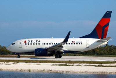 Delta Airlines aircraft