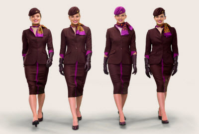 Etihad cabin crew new uniform