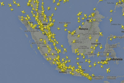 Indonesia airspace