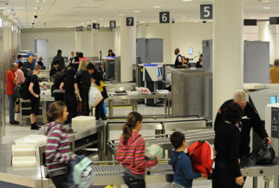 Sydney airport security area