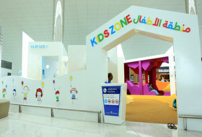 Dubai Airports Kidszone at Terminal 3