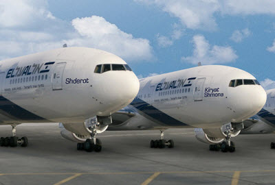 EL AL Boeing 777 airplanes