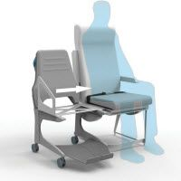 Aussie aisle chair makes flying easier for wheelchair users