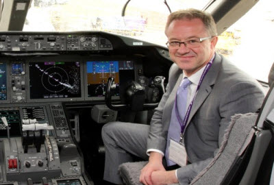 UK CAA CEO Andrew Haines