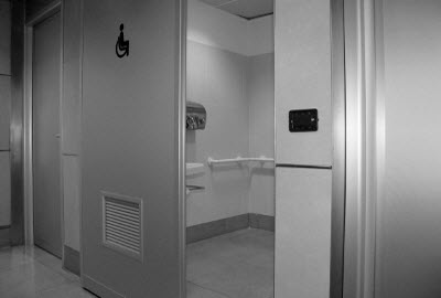 Disabled Toilet at Linate airport