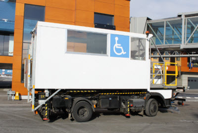 Ambulift in service at Tallinn airport
