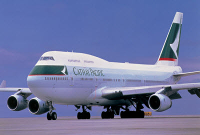 Cathay Pacific Airways Boeing 747