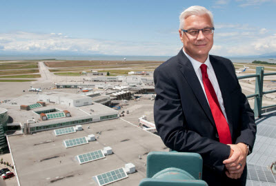 Vancouver International Airport CEO Craig Richmond