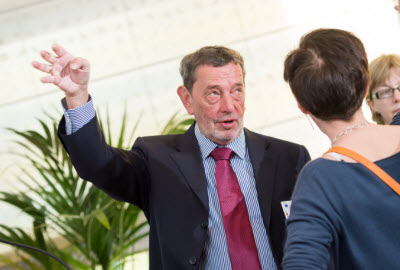 Esaag Chairman and former Home Secretary David Blunkett