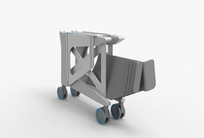 POSTA Seat Transfer Assist folded