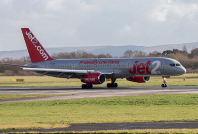 Jet2 Boeing 757 aircraft